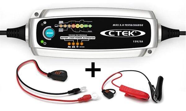 CTEK Batterie Ladegerät MXS 5.0 Test & Charge 12V 0,8 / 5,0 A