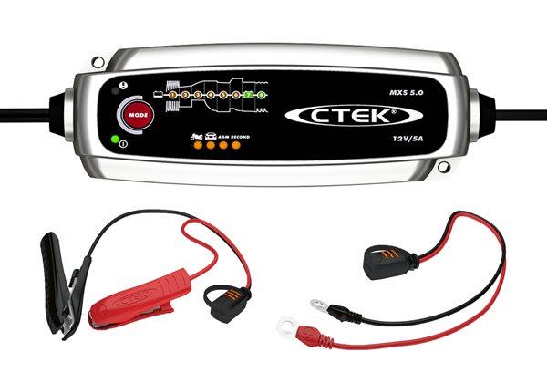 Strålande CTEK MXS5.0 Batterieladegerät der neusten Generation | UK Motors RK-85