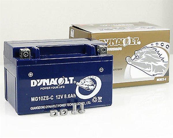 Dynavolt Nano-Gel-Batterie MG10ZS-C / YTZ10-S