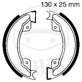 EBC Bremsbacken ohne Federn H332