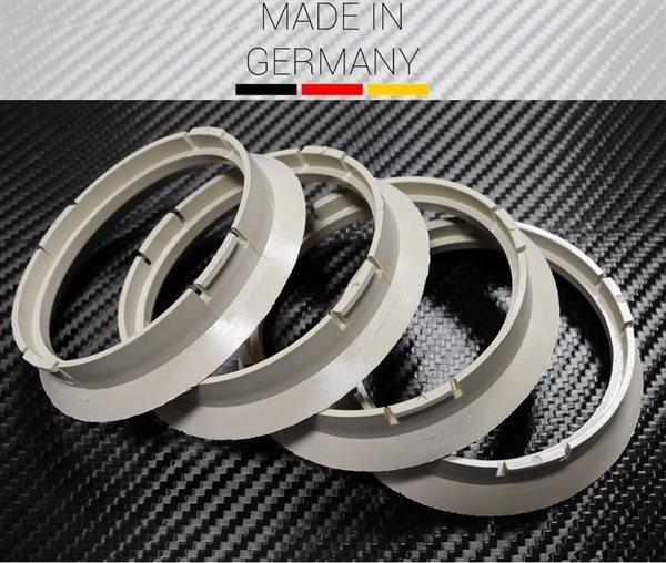 4 X Zentrierring R05 BEIGE Zentrierring 64,0 mm x 57,1 mm Audi VW Seat Mercedes Skoda BMW