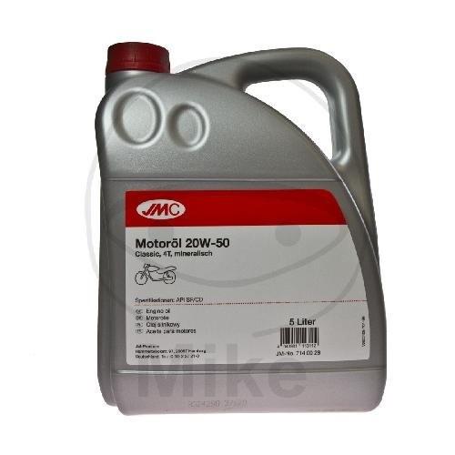 JMC Motorenöl 4T 20W50 min 5 Liter