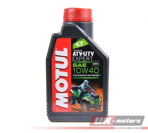 "MOTUL Motoröl 4T ""ATV-UTV Expert"" 10W40 teilsynthetisch 1 Liter"
