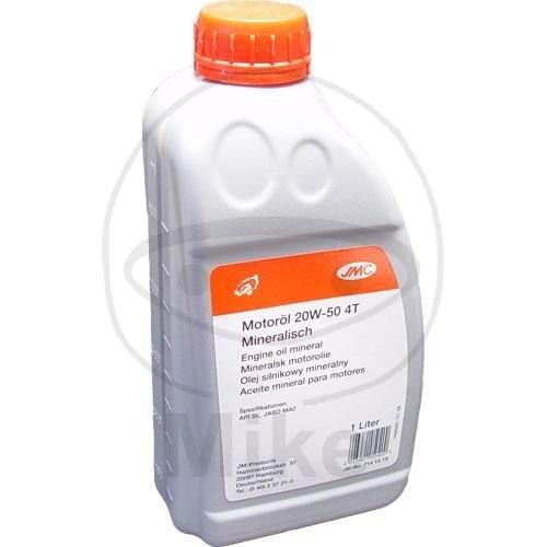 JMC Motoröl 4T 20W50 mineral 1 Liter