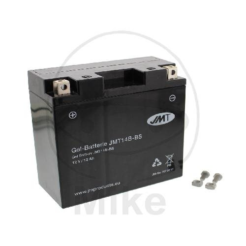 JMT Motorrad Batterie YT14B-BS JMT14B-BS GEL