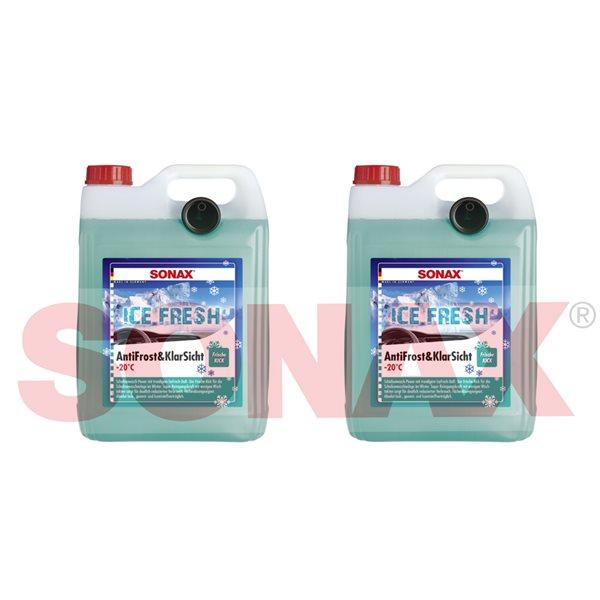 2 X SONAX XTREME AntiFrost+KlarSicht Ice Fresh 01335410 5 Liter