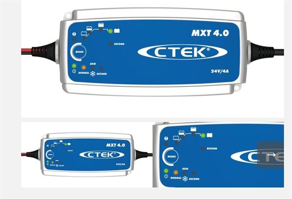 CTEK Batterie Ladegerät MXT4 24V 4A