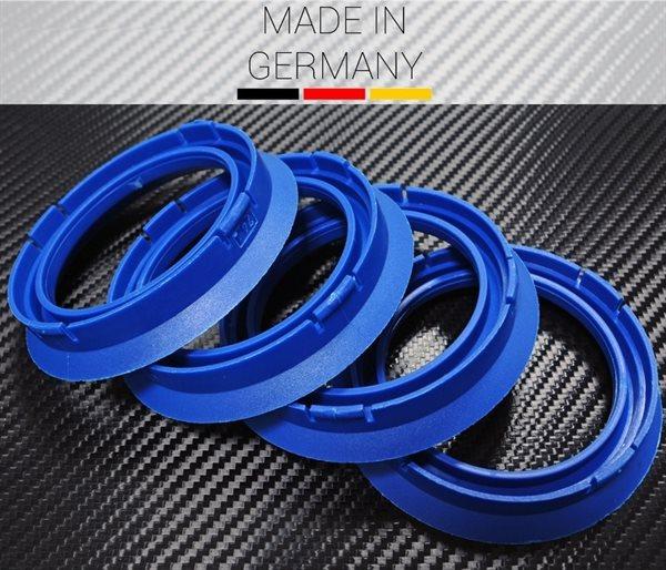 1 X Zentrierring 74,1 mm x 57,1 mm FZ15 BLAU für Audi VW Seat Skoda Mercedes BMW