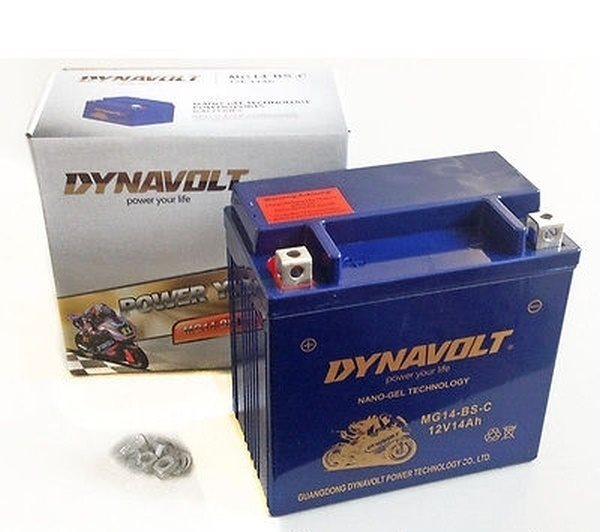 Dynavolt Nano-Gel-Batterie YTX14-BS / MG14-BS-C