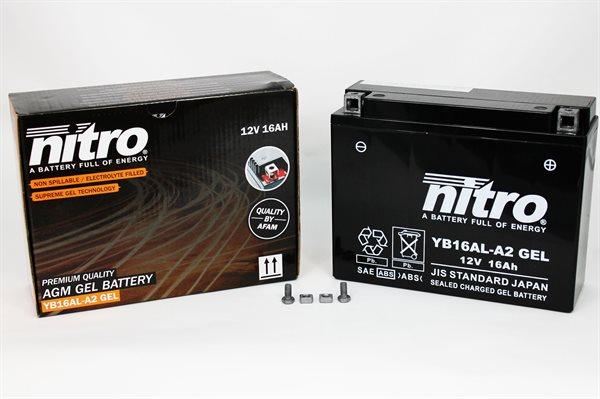 Nitro Gel-Batterie 51616 YB16AL-A2