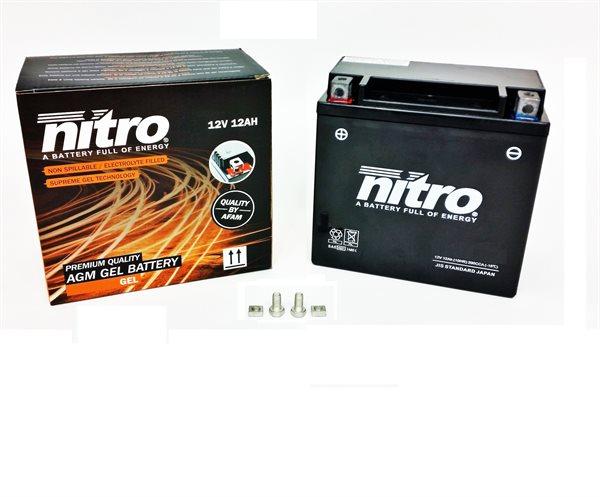 Nitro Gel-Batterie 51214 YTX14-BS