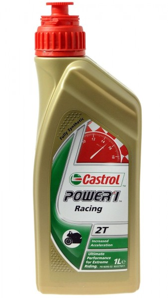 "Castrol Motoröl 2T ""POWER1 Racing"" synthetisch 1 Liter"