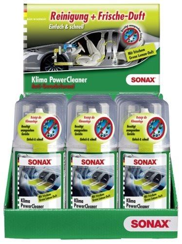SONAX KlimaPowerCleaner Green Lemon 323400 100ml