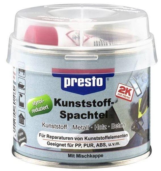 presto 2K Kunststoffspachtel 250g schwarz 601460