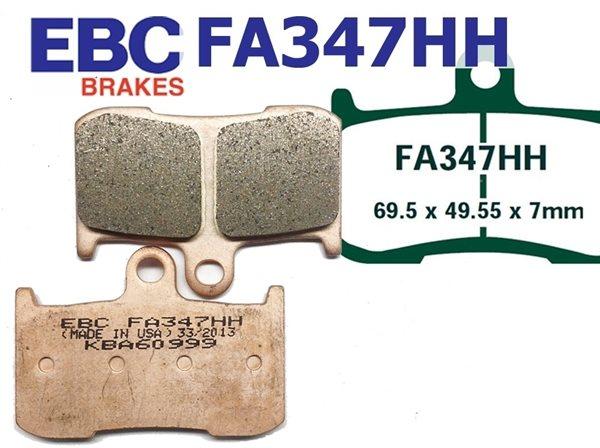 EBC Goldstuff Sintermetall Bremsbeläge FA347HH