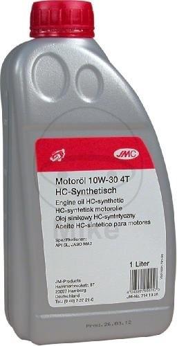 JMC Motoröl 4T 10W30 syn 1 Liter