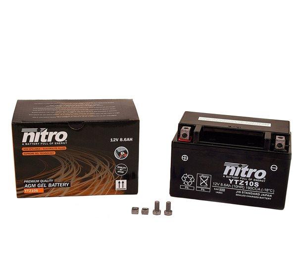 Nitro Batterie YT10Z-S