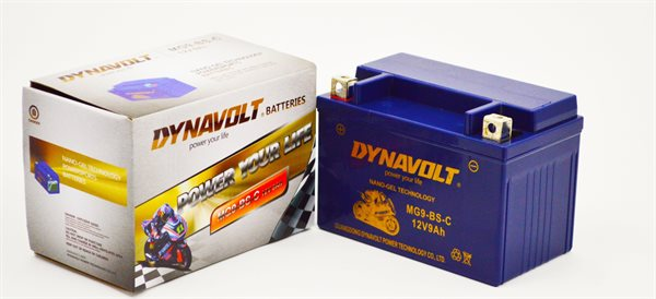 Dynavolt Nano-Gel-Batterie YTX9-BS/MG9-BS
