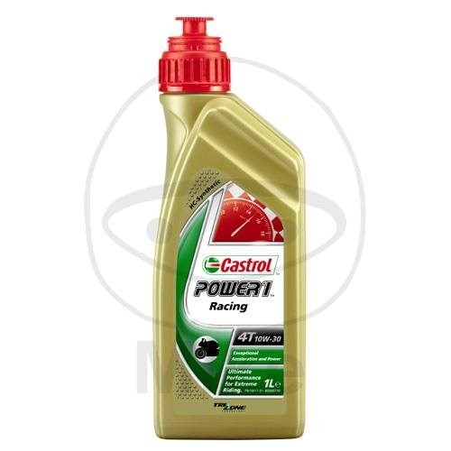 Castrol Motoröl 10W-30 Power 1 Racing 4 Takt 1 Liter / 58477 / 14E948