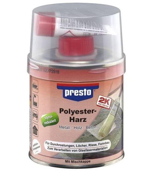 presto 2K Polyester-Harz 600528 1000g inkl. Härter