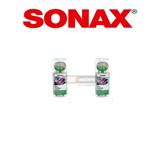 2 X SONAX KlimaPowerCleaner Anti-Geruchsformel 323100 150ml