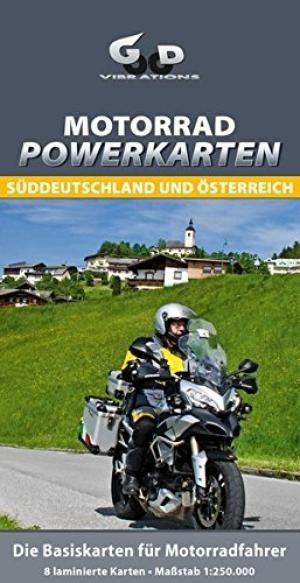 Motorrad Powerkarten Süddeutschland und Österreich