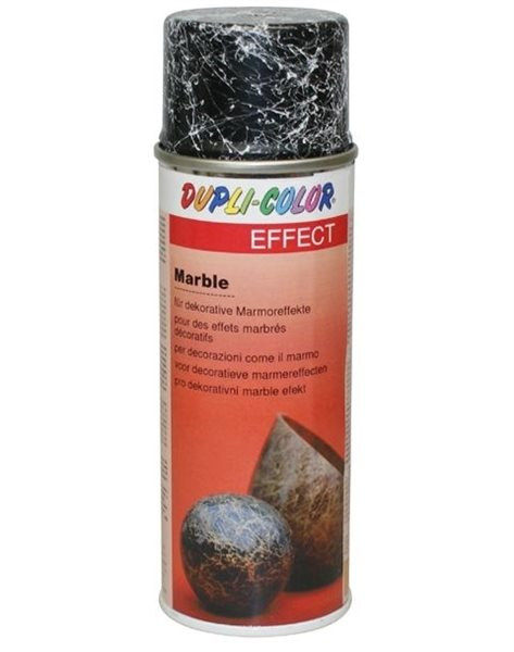 Dupli-Color Effektspray Marble schwarz 652783 200ml Marmor-Look DIY