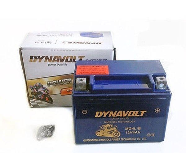 Dynavolt Nano-Gel-Batterie YB4L-B / MG4HL-B-L