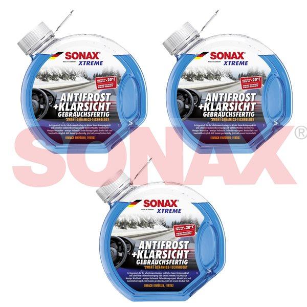3 X 3L SONAX XTREME AntiFrost+KlarSicht bis -20°C 02324000