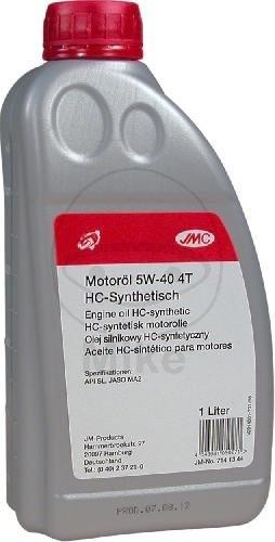 JMC Motoröl 4T 5W40 syn 1 Liter