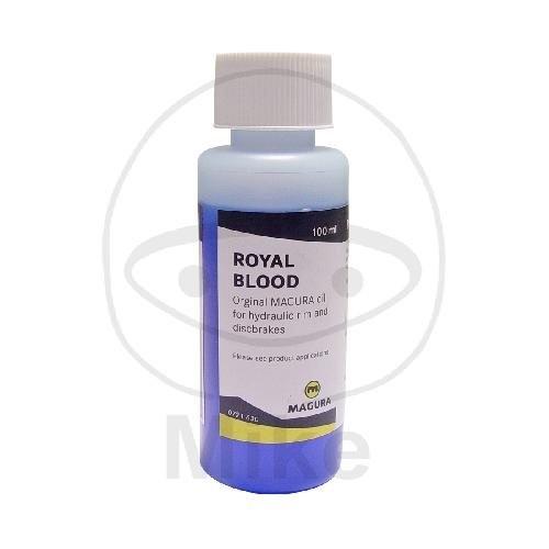 Magura Royal Blood, biologisch abbaubares, hochwertiges Öl auf Mineralölbasis 100ml 0721630; 7300213