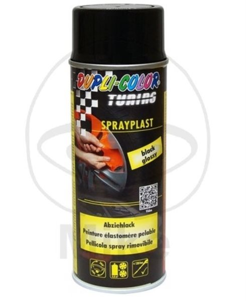 Dupli-Color Abziehlack 388040 400 ml schwarz-glänzend Sprayplast
