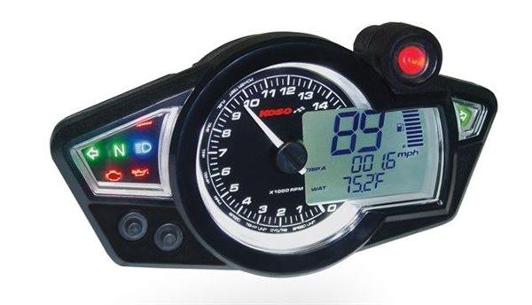 KOSO RX1N GP Style Digitaler Tachometer Speedometer