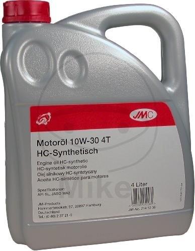 JMC Motoröl 4T 10W30 syn 4 Liter