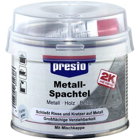 presto Metallspachtel & Härter 250g 604386 Füllspachtel