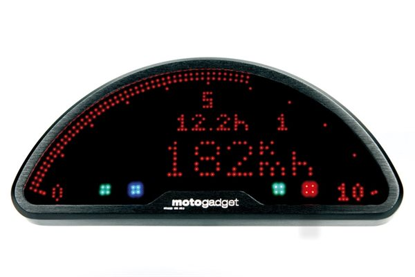 motogadget motoscope pro Dashboard Tachometer Multifunktions-Cockpit