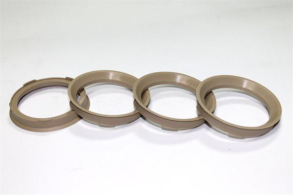 1 X Zentrierring 67,0 mm x 56,6 mm FZ73 BEIGE