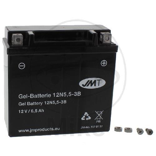 Motorrad Batterie 12N5.5-3B GELJMT JM12N5.5-3B GEL