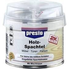 presto 2K Holzspachtel 604423 250g Möbel Türen Parkett Spachtelmasse
