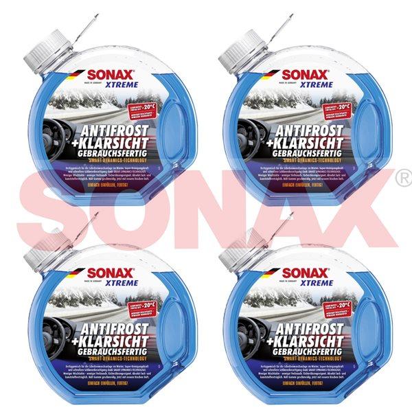 4 X 3L SONAX XTREME AntiFrost+KlarSicht bis -20°C 02324000