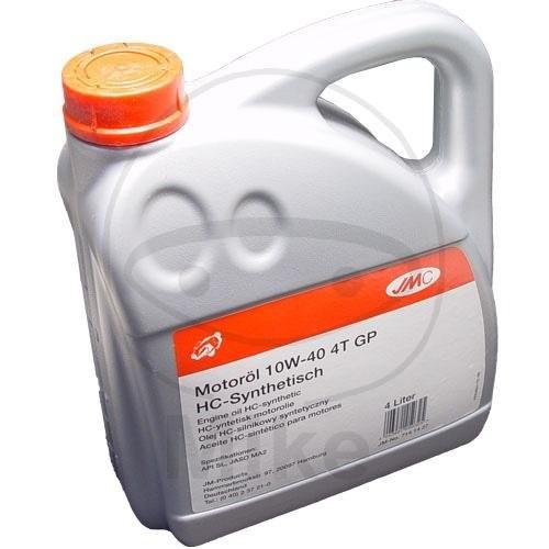 JMC 10W-40 GP 4-Takt 4 Liter Hochleistungsmotorenöl mit HC-Synthese-Grundölen