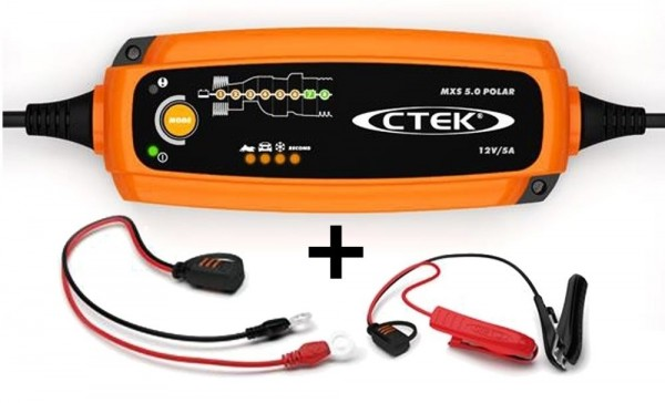 CTEK Batterie Ladegerät MXS 5.0 POLAR 12V 0,8 / 5,0 A
