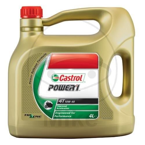 "Castrol Motoröl 4T ""Power1"" 10W40 4 Liter"