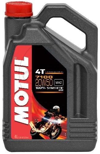 "MOTUL Motoröl 4T ""7100"" 20W50 vollsynthetisch 4 Liter"