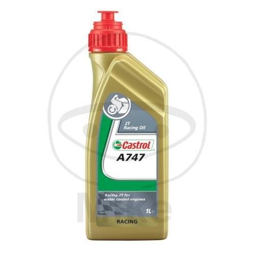 Castrol Motoröl Racing A747 2 Takt 1 Liter für Rennmotoren / 53919