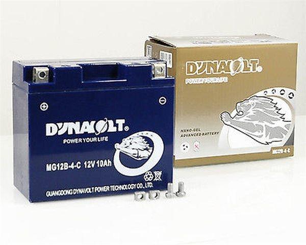 Dynavolt Nano-Gel-Batterie YT12B-4 / MG12B-4-C