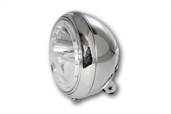 HIGHSIDER 7 Zoll LED-Hauptscheinwerfer VOYAGE chrom