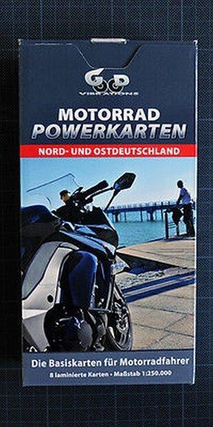 Motorrad Powerkarten Nord und Ostdeutschland