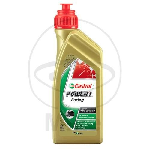 Castrol Motoröl 10W40 Power 1 Racing 4 Takt 1 Liter / 58877 / 15048F