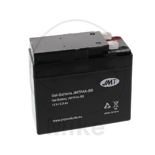 JMT Motorrad Batterie YTR4A-BS JMTR4A-BS GEL